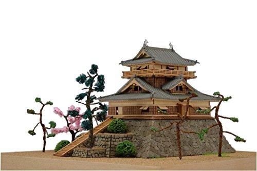 ウッディジョー 1/150 丸岡城 木製模型 組み立てキット