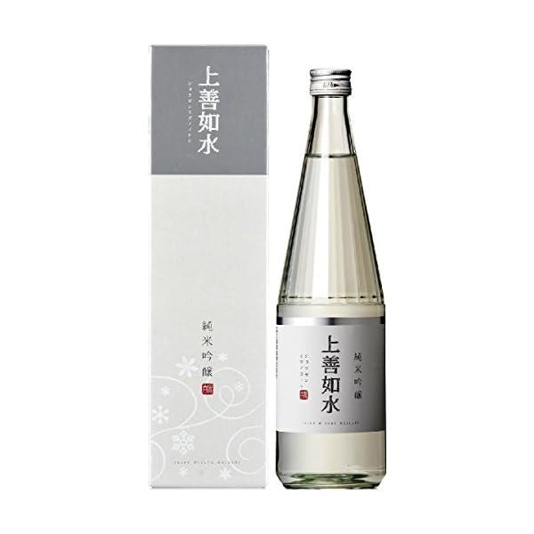 白瀧酒造 上善如水 純米吟醸 瓶 720ml [...の商品画像
