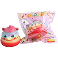 cinhent Toys絶妙なカートゥーンベアPoo香りつきSlow Rising Squeeze anti-anxietyコレクションFunny Kids Toys About 6cm マルチカラー CHINA-15608596GGP