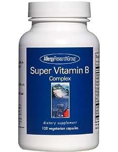 ビタミンB サプリメント 無添加 アレルギー性成分不使用 植物性 120粒60日分x1本入【海外直送品】