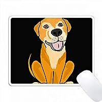 面白いラボミックスレスキュー犬の漫画 PC Mouse Pad パソコン マウスパッド