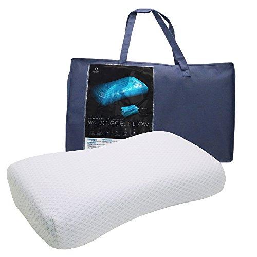 東京西川 ジェル&ウレタン枕 ブルー