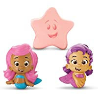 Bubble Guppies Molly, Oona, Starfish Bath Squirters