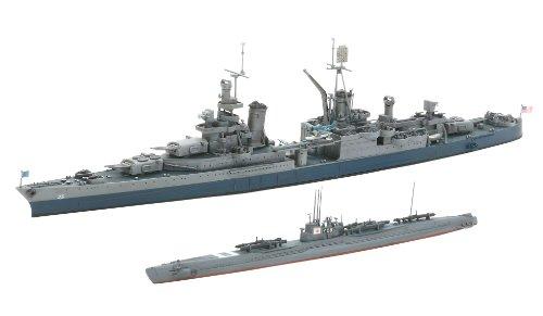 スケール限定シリーズ 1/700 日本潜水艦 伊-58後期型 & アメリカ海軍 重巡洋艦 インディアナポリス 25119