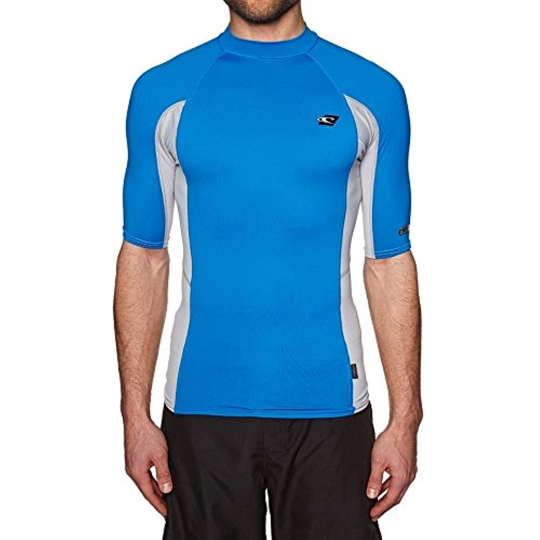 (オニール) O'Neill メンズ 水着?ビーチウェア ラッシュガード O'Neill Premium Skins Short Sleeve Rash Vest [並行輸入品]