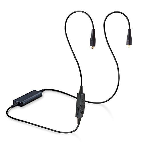 エレコム Bluetooth ワイヤレスレシーバー HPC1000 リケーブル MMCX端子 LDAC対応 ブラック LBT-HPC1000RC