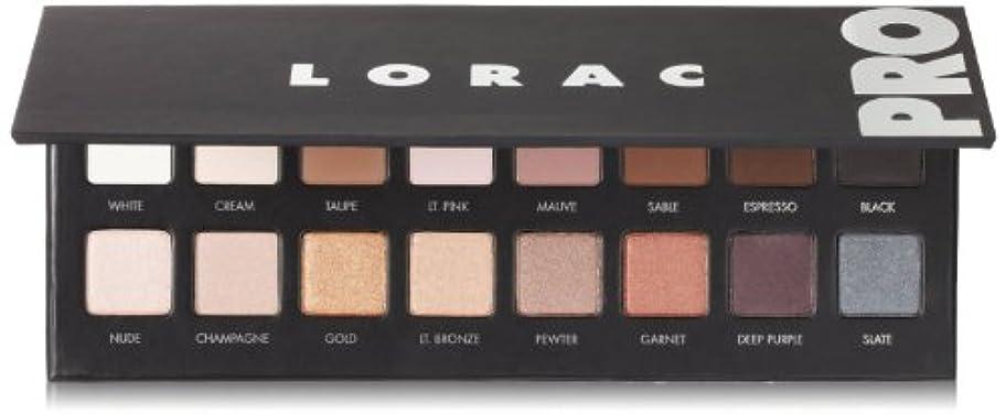 消す煩わしい発症LORAC プロのアイメイク シャドウパレット 16色