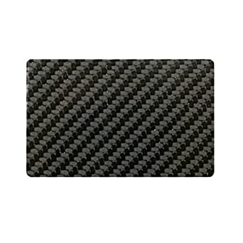 DECADENT MINIMALIST カーボンファイバー RFID電磁波遮断カード スキミング防止 カード干渉防止