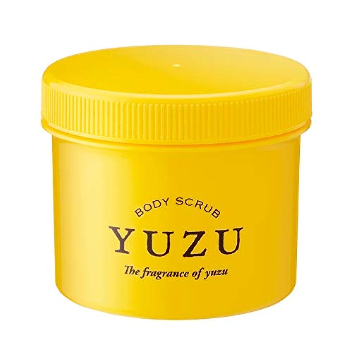スクラッチ含意医薬品(美健)ビケン YUZU ボディマッサージスクラブ 高知県ゆず精油のみで香り付け