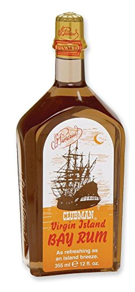 砂利ラケット五十CLUBMAN Virgin Island Bay Rum, 12 oz (並行輸入品)