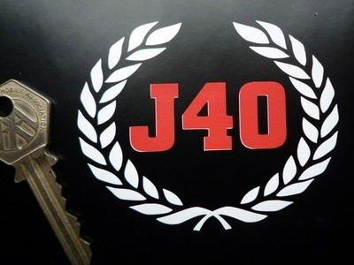 Austin J40 Pedal Car Cut Vinyl Sticker オースチン ステッカー デカール シール 海外限定 82mm × 65mm [並行輸入品]