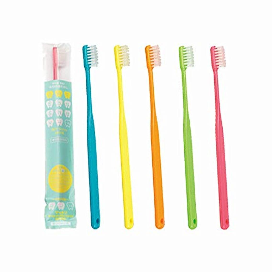 教室後世アクセサリー大人用歯ブラシ 歯科専売品 FEED(フィード) 占い!Shu Shu(うらないシュシュ)歯ブラシ×10本 (ふつう(M), 色はおまかせ)