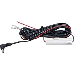 コムテック 直接配線コード ZR-01 レーダー探知機&ドライブレコーダー用オプション 長さ約4.0m ACC線 IG線 直接電源