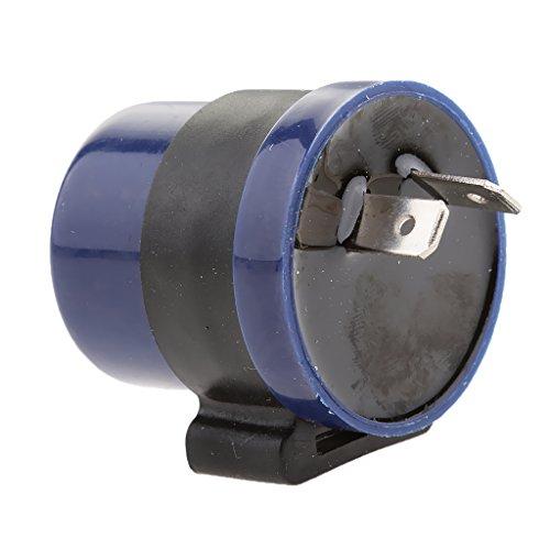 [해외]Lovoski LED 방향 지시등 하이 훌라 방지 릴레이 2 핀 6-12V 성 노출증 오토바이 자전거 대응 블루/Lovoski LED blinker Hyfla prevention relay 2 pin 6 - 12 V Flasher motorcycle Bike compatible Blue
