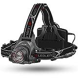LEDヘッドライト H14R.2 作業 工事 強力 IPX4防水 充電式/単3電池(AA)x4本 【明るさ約1000ルーメン】 【最長7年保証】 [日本正規品]