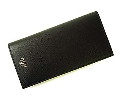 (アルマーニ)ARMANI 長財布 エンポリオアルマーニ 二つ折 (ブラック) YEM474 YC91E 80001 A-2046 [並行輸入品]