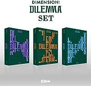 ENHYPEN (エンハイフン) - 1集 「DIMENSION : DILEMMA」 (3種セット/+初回限定特典付き)+初回限定ポスター