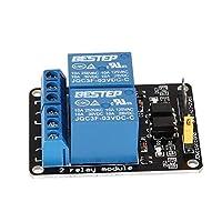 Blackfell 3 v 2チャンネルリレーモジュールインターフェースボード低レベルトリガーフォトカプラ用Arduino SCM PLCスマートホームリモートコントロールスイッチ