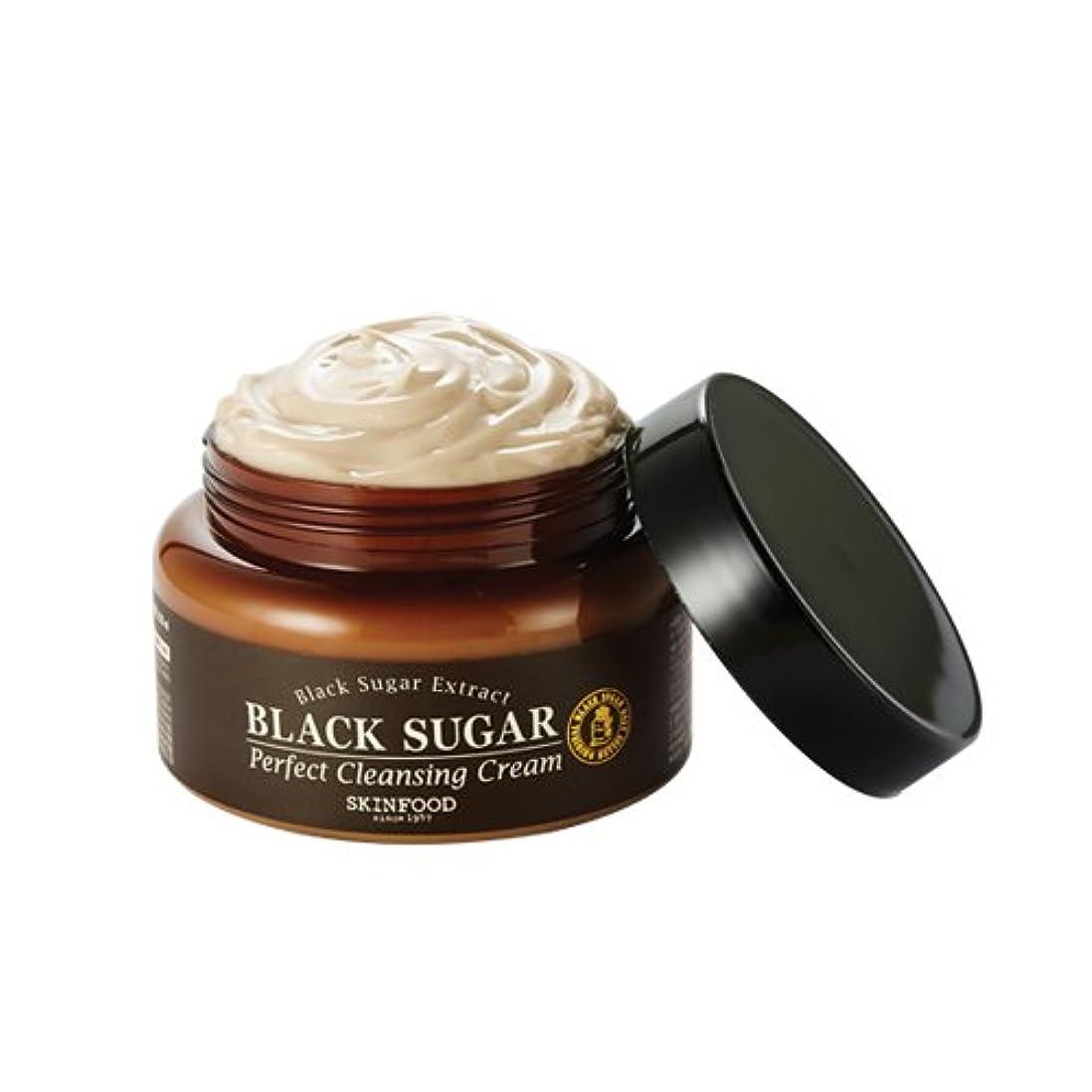 パンフレット怒り甲虫Skinfood/Black Sugar Perfect Cleansing Cream/黒糖パーフェクトクレンジングクリーム/230ml [並行輸入品]