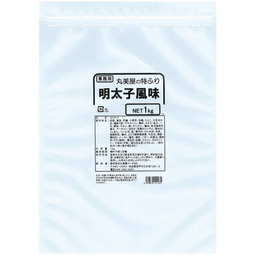 丸美屋 特ふり 明太子風味 1kg