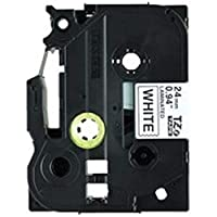 -業務用5セット-・brother・ブラザー工業・文字テープ/ラベルプリンター用テープ・-幅:24mm-・5個入り・TZe-251V・白に黒文字・