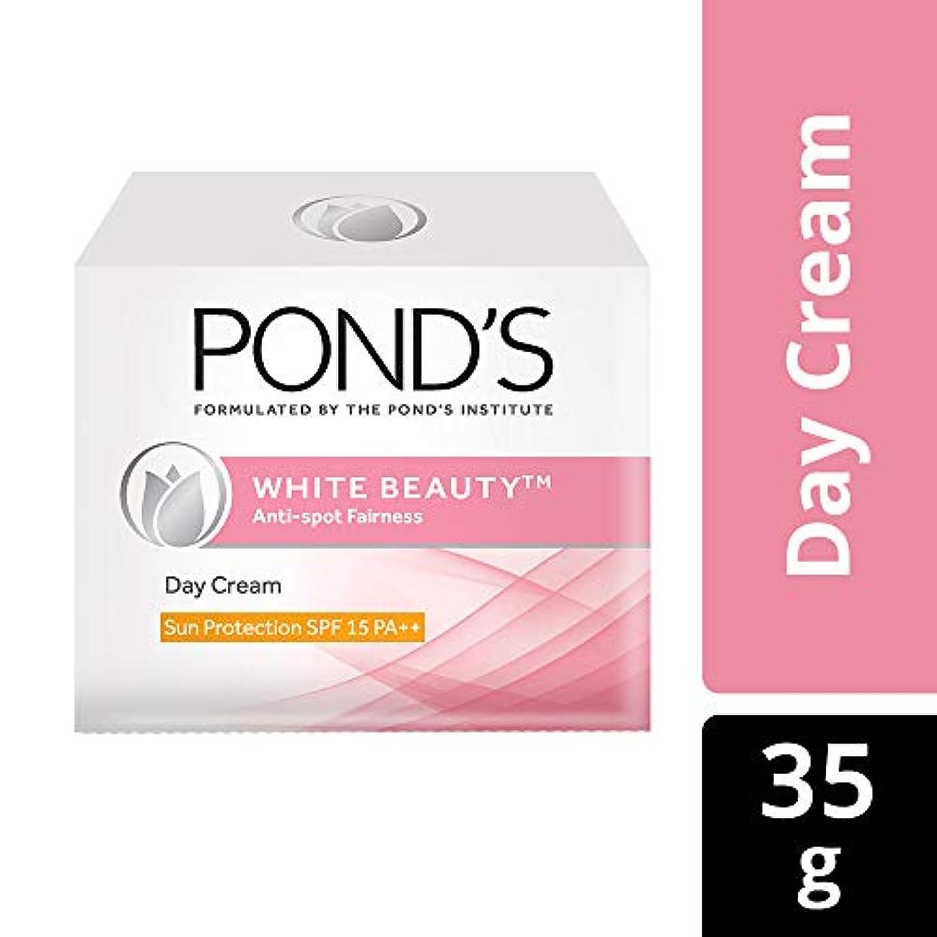 フックあいさつ狂気Pond's White Beauty Anti Spot Fairness SPF 15 Day Cream, 35g