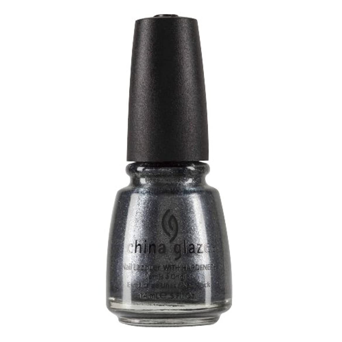 描く曇ったシールドCHINA GLAZE Nail Lacquer with Nail Hardner 2 - Jitterbug (並行輸入品)