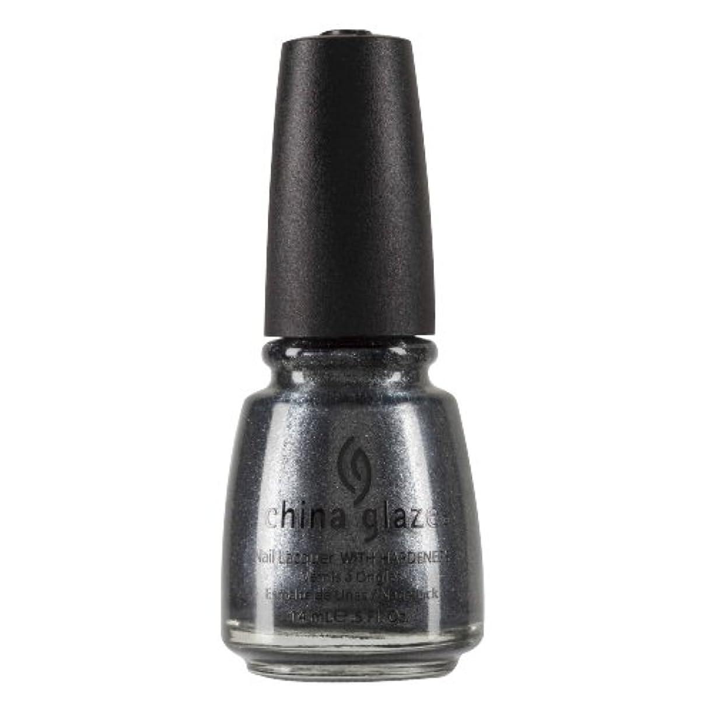 CHINA GLAZE Nail Lacquer with Nail Hardner 2 - Jitterbug (並行輸入品)