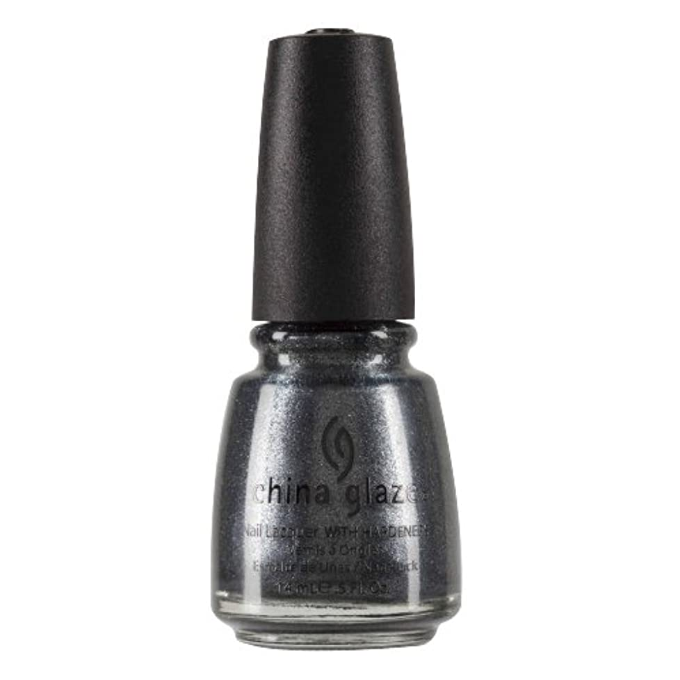 ガム意図的マトリックスCHINA GLAZE Nail Lacquer with Nail Hardner 2 - Jitterbug (並行輸入品)