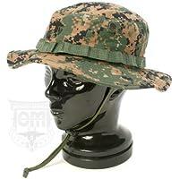 USMC WOODLAND MARPAT BOONIE HAT 米軍払い下げ品 C-011c (M(57cm))