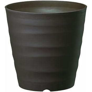 大和プラスチック (ACTOR) 鉢・プランター フレグラーポット 21型 ダークブラウン 奥行21×高さ21×幅21cm