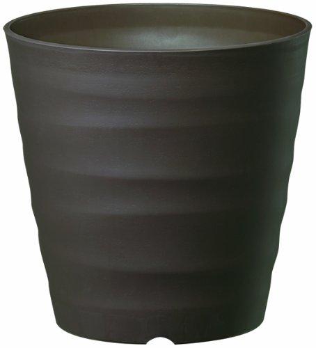 大和プラスチック 鉢・プランター フレグラーポット 21型 φ210×H210 ダークブラウン