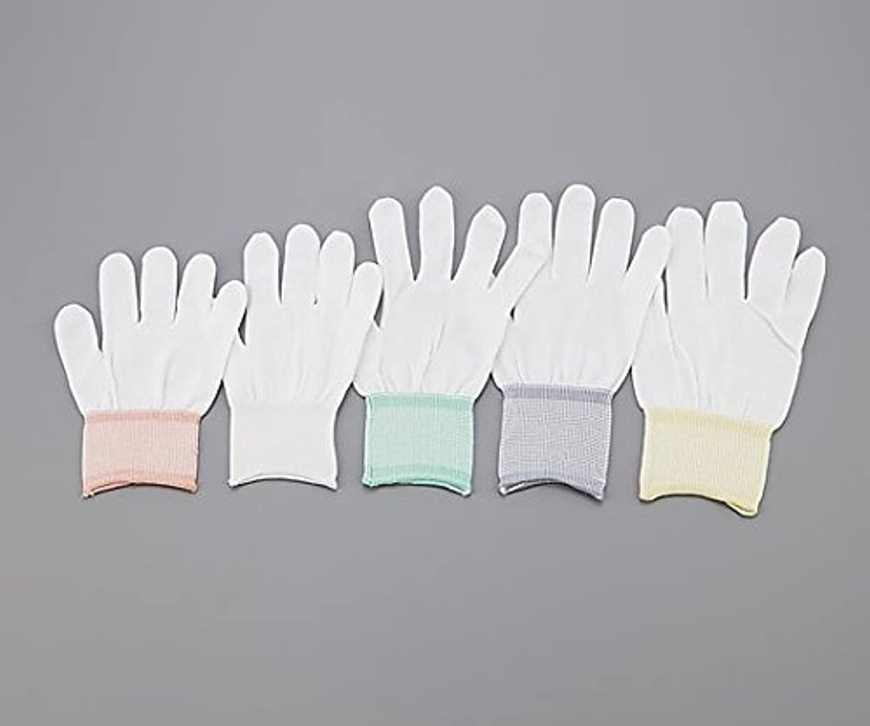 パテ番目いくつかのアズピュア(アズワン)1-4294-03アズピュアインナー手袋指先有りL10双20枚