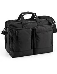 サンワダイレクト ビジネスバッグ ガーメントバッグ スーツ収納可能 A3対応 1~2日出張対応 200-BAG090