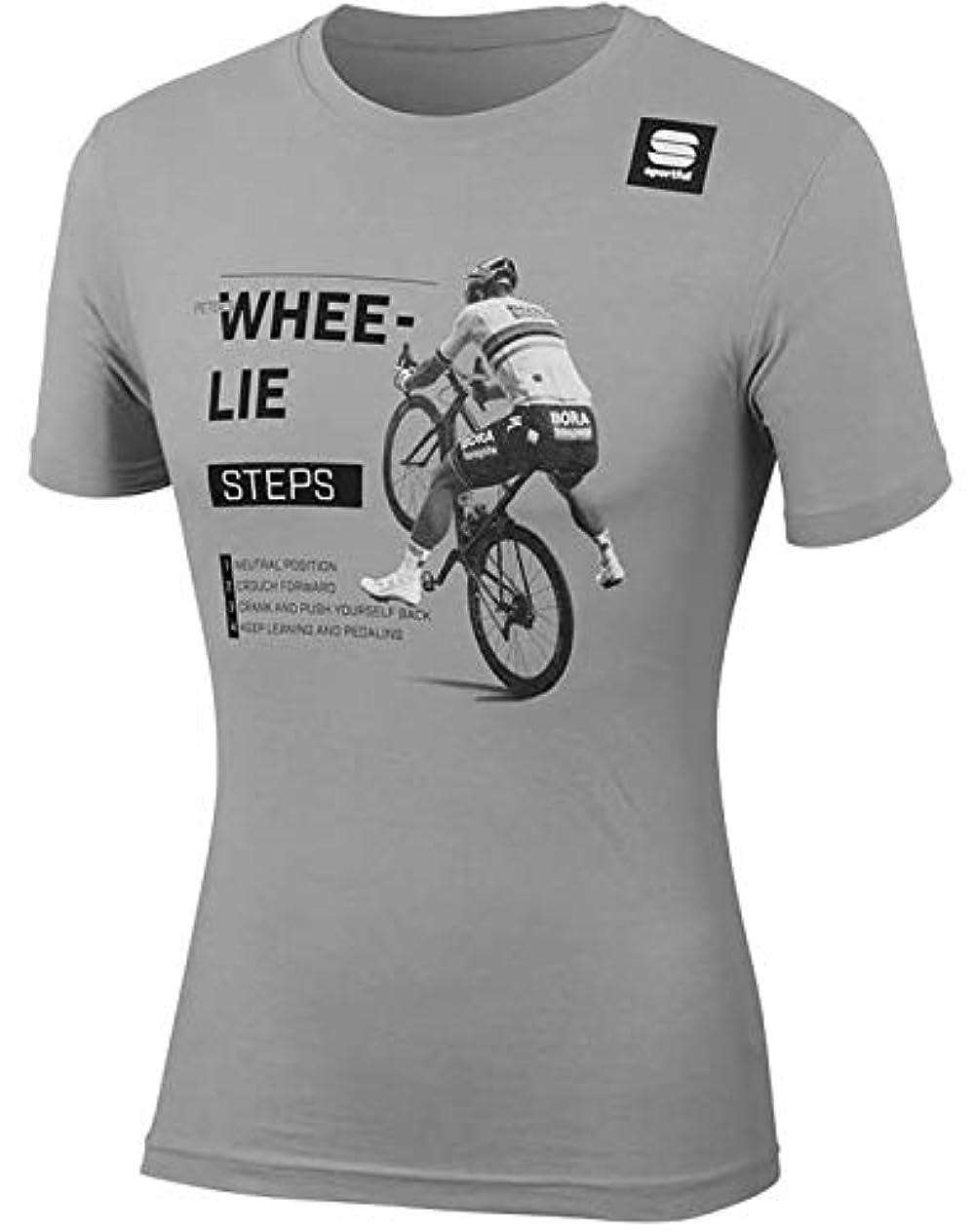 クラッシュ不忠利益自転車ウェア 2019 Bora Hansgrohe サガン Tシャツ ウィリー XXLサイズ