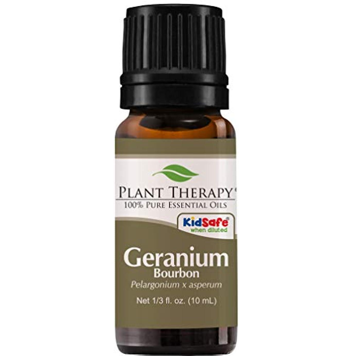 うるさいインテリア条件付きゼラニウムブルボンエッセンシャルオイル10ミリリットル(1/3オンス)100%ピュア、希釈していない、治療グレード