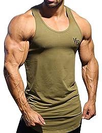メンズ タンクトップ Tシャツ スポーツ ノースリーブ トレーニングウェア インナーシャツ トップス