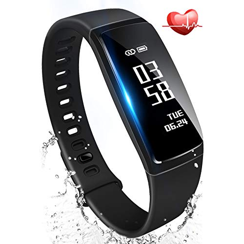 スマートウォッチ 血圧 心拍計 歩数計 活動量計 防水 スマートブレスレット LINE 睡眠検測 iphone