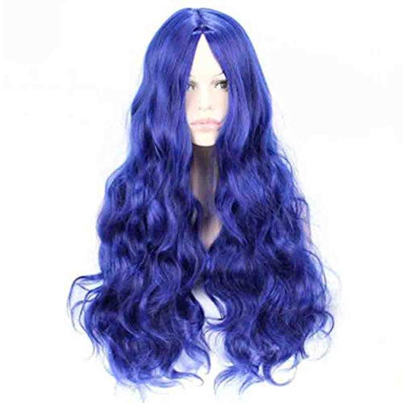 ポーズ広く相反する女性のための色のかつら、ポニーテールのロリータカーリーコスプレウィッグ、高密度温度合成ウィッグコスプレヘアウィッグ、耐熱繊維ヘアウィッグ