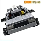 レゴ バックトゥザフューチャー デロリアン BTTF DeLorean DMC-12 V4.0 - Custom LEGO Model