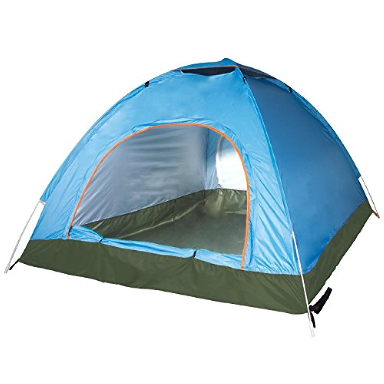 損失風タックShiMin 3人のファムキャンプドームのバックパッキングインスタントテント、ビーチテント