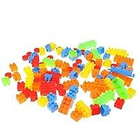 F Fityle カラフル 全100個 ビルブリックブロック 建物おもちゃ 積み木 ビルディングブロック 子ども ギフト
