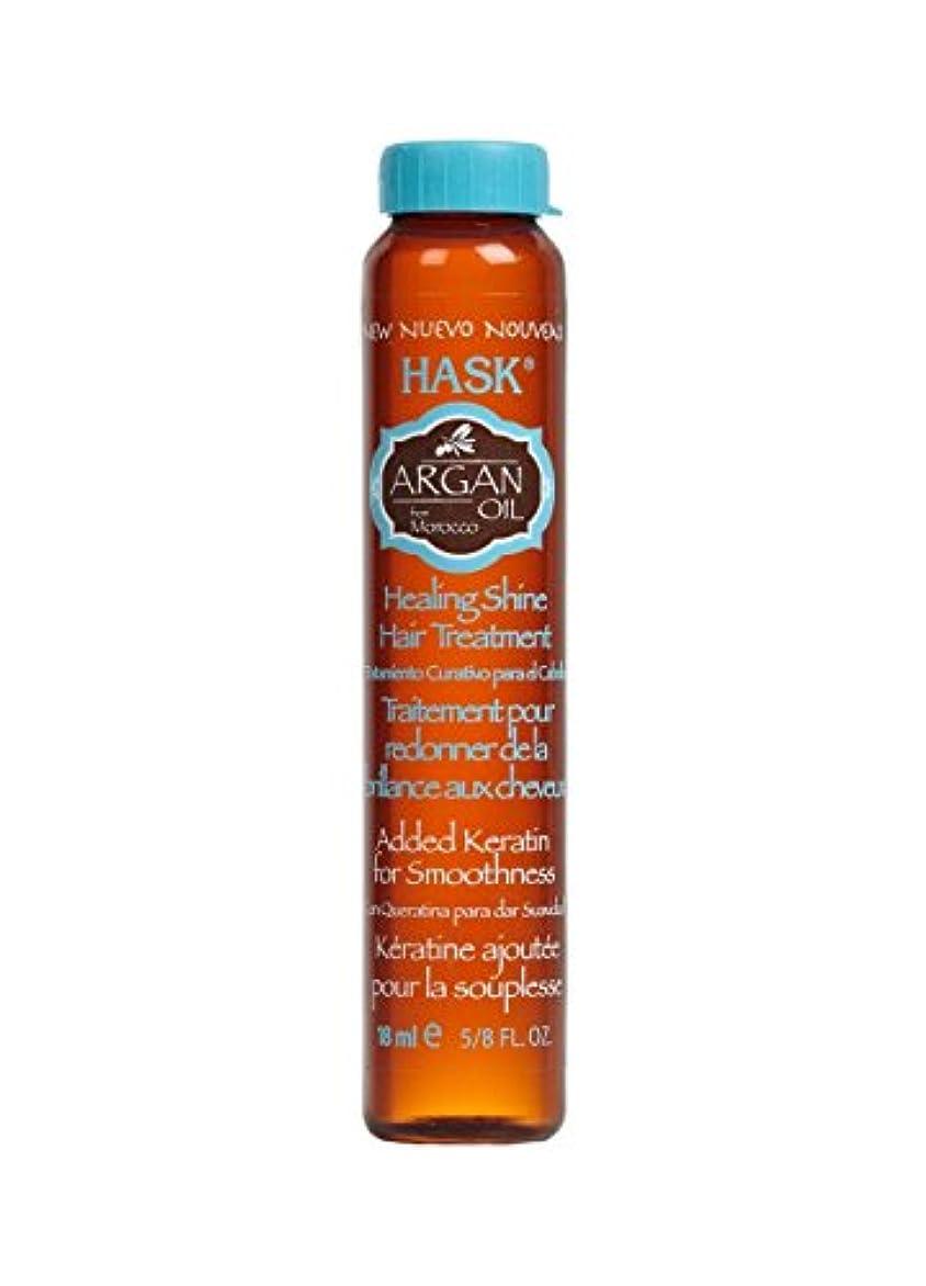 退却魅力欲求不満HASK Argan Oil Repairing SHINE Oil, 0.62 oz (並行輸入品)