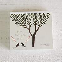 illustration ネクタイ ブロックメモ (木のMemo Pad)