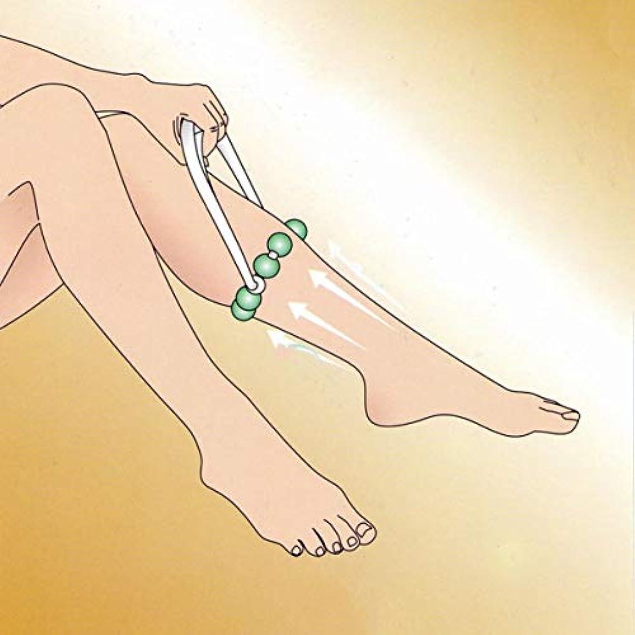 解き明かす保存冷ややかなLeg Massage Roller Fat Burner Mini Wheel Leg Massager Body Relax Fat Control Cellulite Massage Tool Health Care