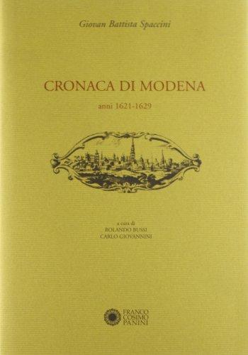 Cronaca di Modena vol. 5 - Anni (1621-1629)