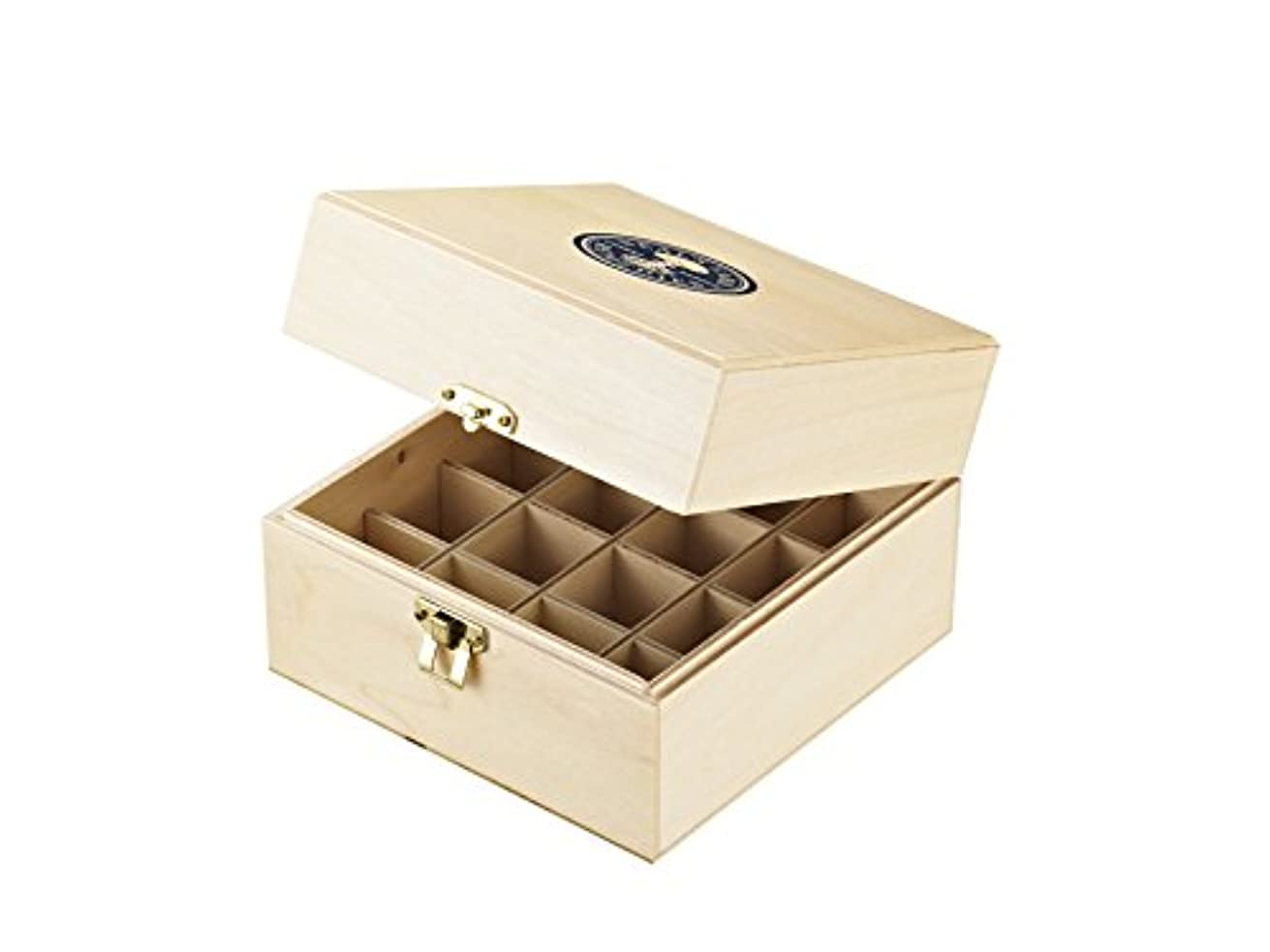 メンテナンス予約布ニールズヤード レメディーズ エッセンシャルオイル保管木箱(16本収納)