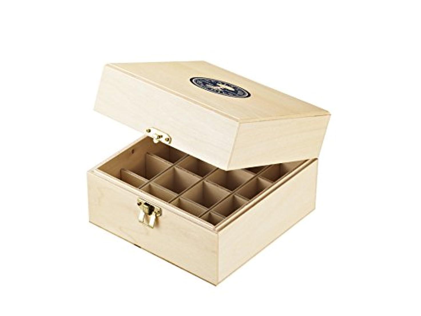 仕立て屋弾性スクランブルニールズヤード レメディーズ エッセンシャルオイル保管木箱(16本収納)