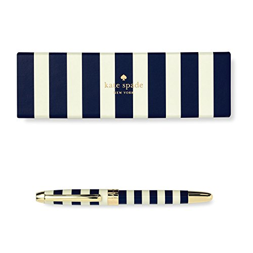 Kate spade new york) she always has something to declare point pen NAVY STRAIP185450