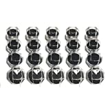 リングケース 透明 ジュエリー ボックス ケース 20個 セット 指輪 リング 指輪ケース 黒
